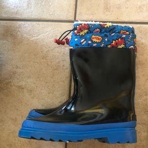 Kids Cartoon Boots